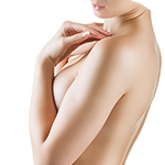 Фото до и после коррекции асимметрии груди